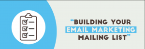 Building a Successful Email Marketing List